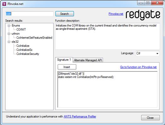 Invoke Win32 API via PowerShell   coolorange